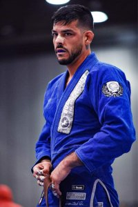 Patrick Chancey in Blue Gi